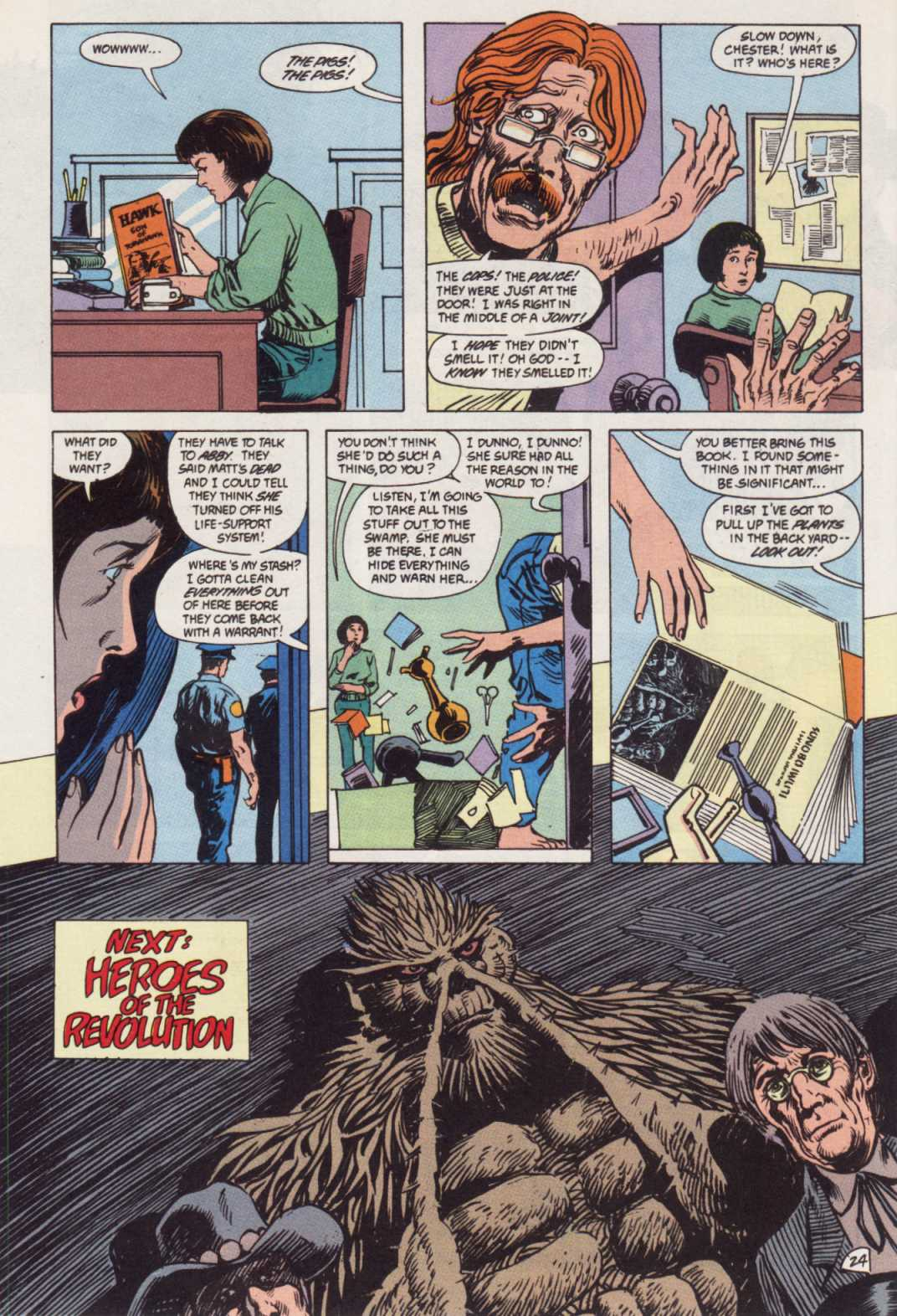 Swamp Thing (1982) Issue #85 #93 - English 24
