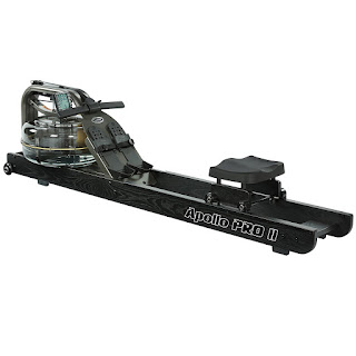 First Degree Fitness Apollo Pro II Black Reserve AR Water Rower Rowing Machine, image, review features & specifications