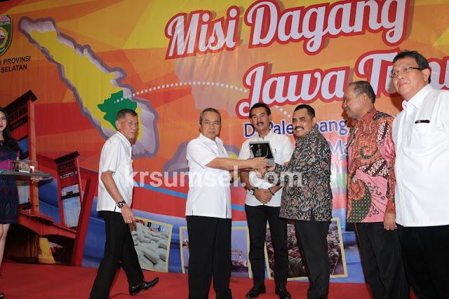 Jawa Timur Tingkatkan Transaksi Dagang di Sumsel