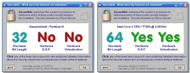 ماهو الفرق بين 32 bit و 64 bit وهل حاسوبك يدعم 32 أم 64 وهل حاسوبك يدعم الأنظمة الوهمية