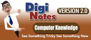 Digi Notes : Computer
