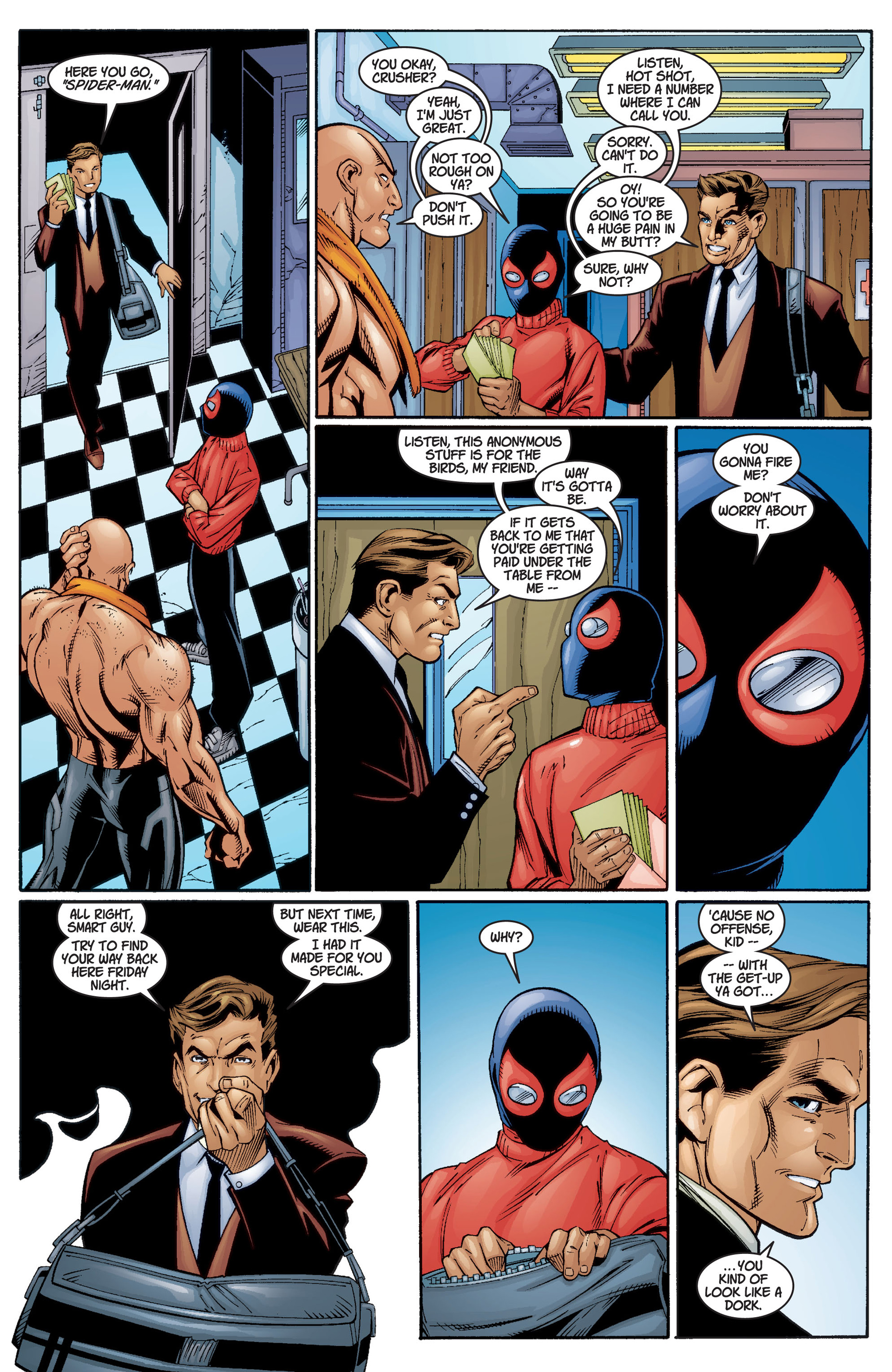 Read online Ultimate Spider-Man (2000) comic -  Issue #3 - 19