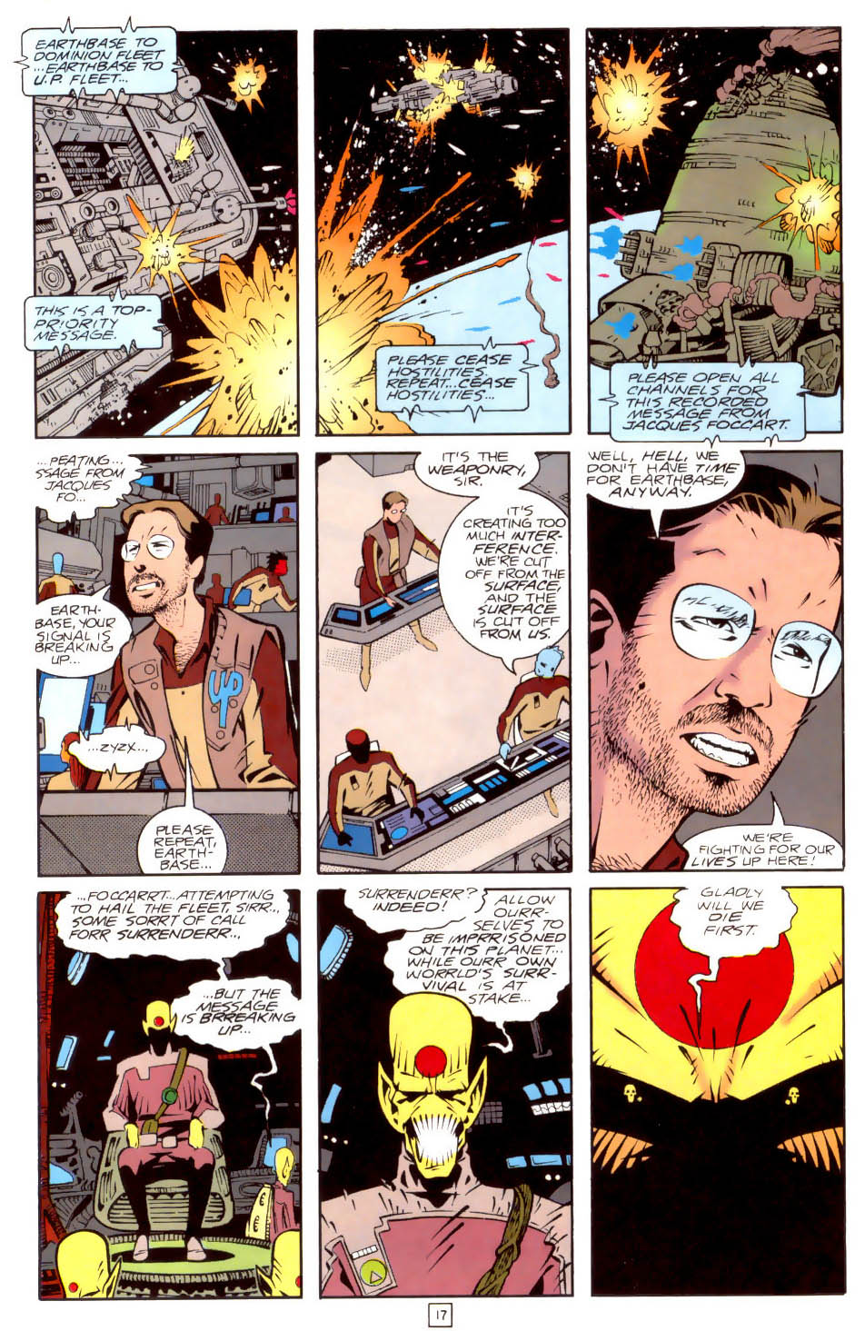 Legion of Super-Heroes (1989) 35 Page 17