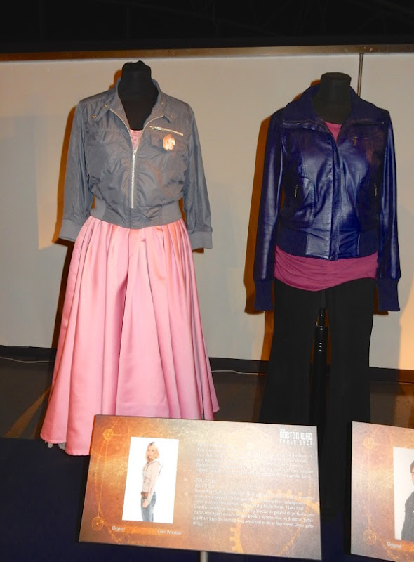 Billie Piper Rose Tyler Doctor Who costumes