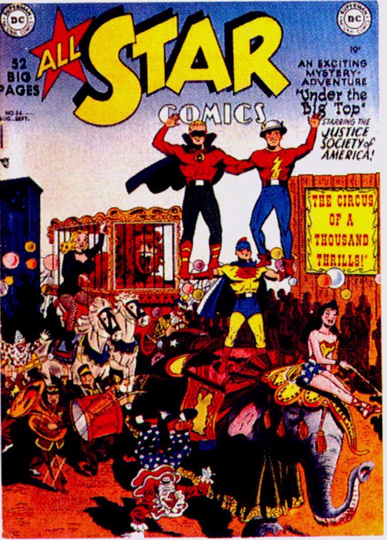 Read online All-Star Comics comic -  Issue #54 - 1