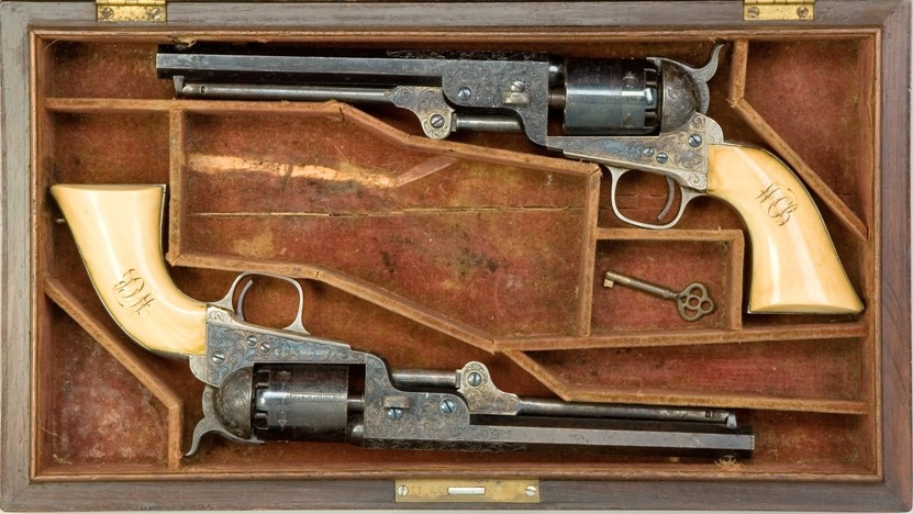 Deadly 1851 Colt Navy Revolver | Army and Weapons