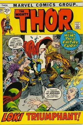 Thor #194, Thor stops Loki from marrying Sif
