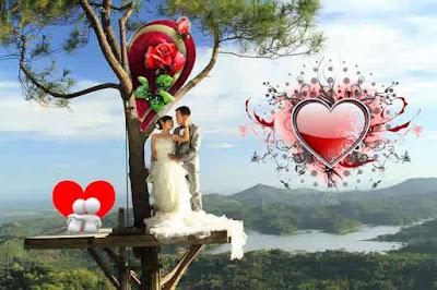 Tree house for prewedding in Kalibiru