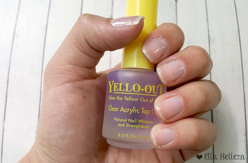 ¿Cómo quitar lo amarillo de las uñas?