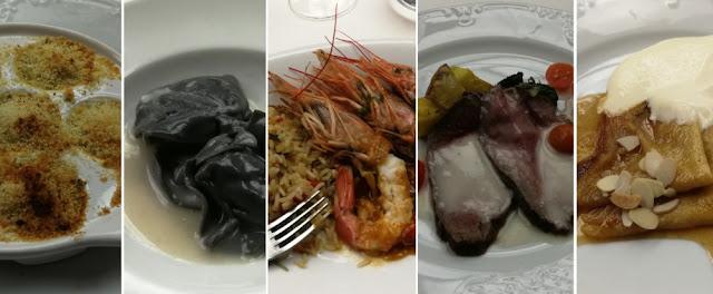 MSC Armonia - Gala-Menü am Abend