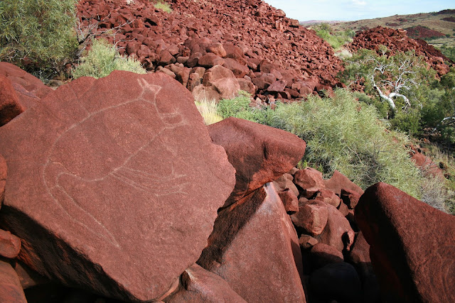Western Australia chemical plants threaten 40,000-year-old rock art