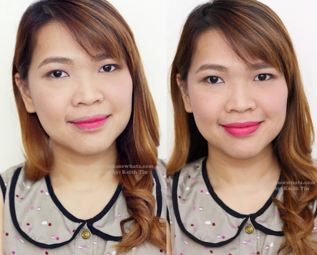 a photo of Maybelline LIPgradation shade pink1