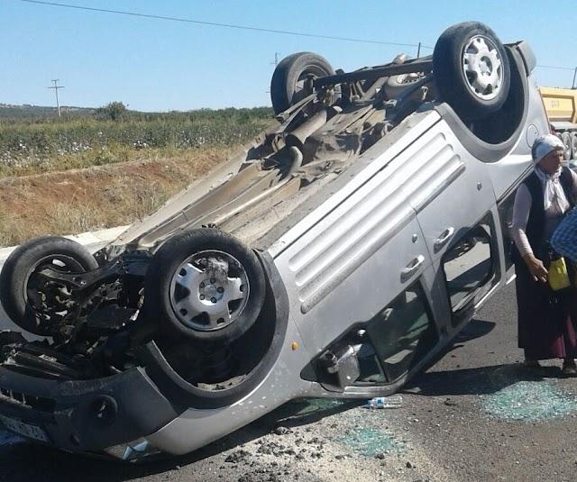Bozova'da trafik kazası