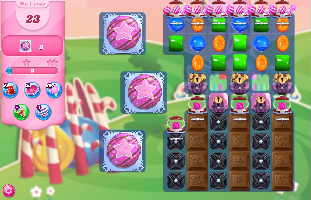 Candy Crush Saga level 5103
