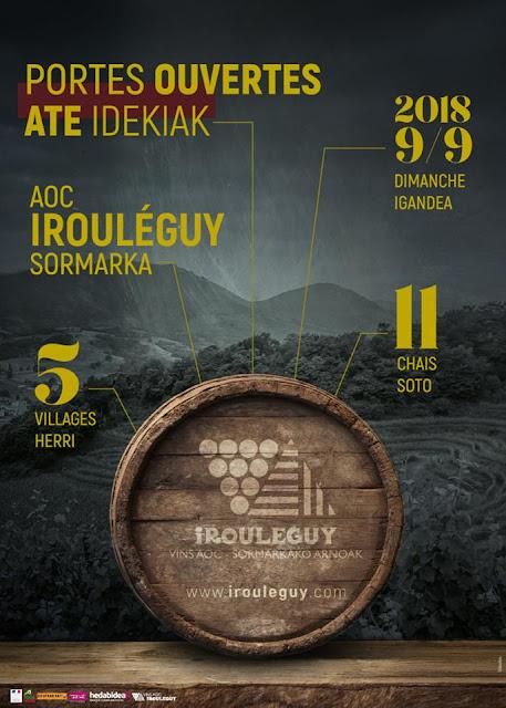 Portes ouvertes des chais du vignoble d'Irouléguy 2018 pays basque