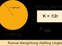 Rumus Menghitung Keliling Lingkaran