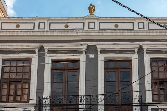 Casa antiga na Rua Paula Gomes - detalhe