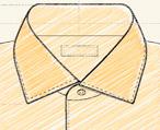 """Обработка воротников в мужской сорочке: жесткие, двойные, воротники с """"косточками"""""""