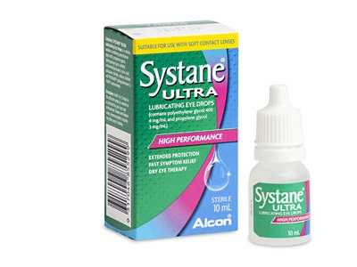 Nước mắt nhân tạo Systane ultra của Alcon