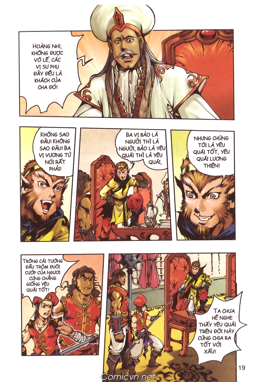 Tây Du Ký màu - Chapter 124 - Pic 16