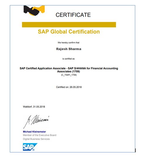 Sap Tao Expert Intelligent It Services Successfully