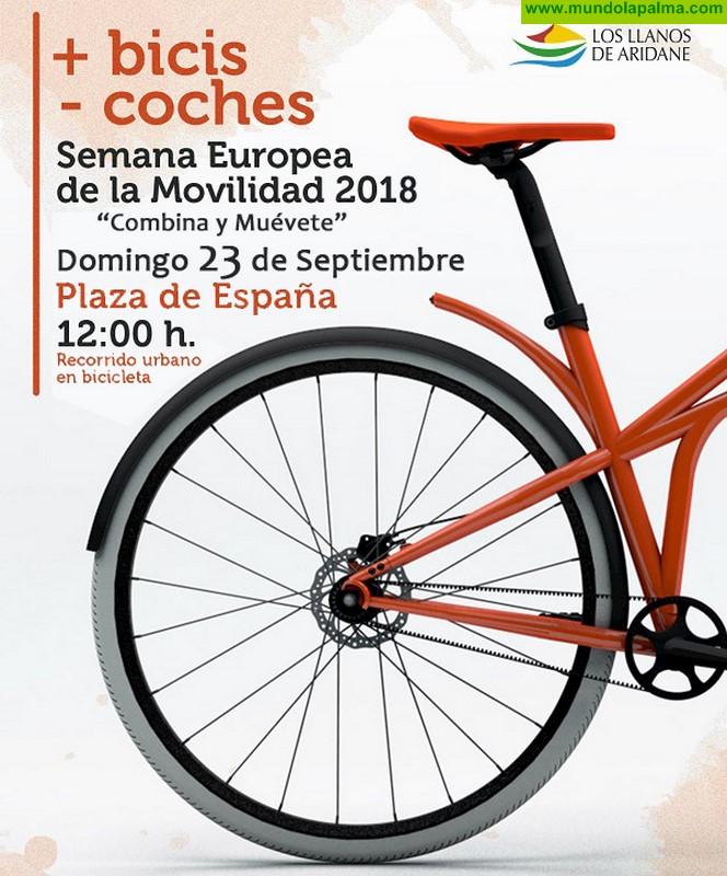 """Los Llanos celebra por tercer año consecutivo la Semana Europea de la Movilidad bajo el lema """"Combina y Muévete"""""""