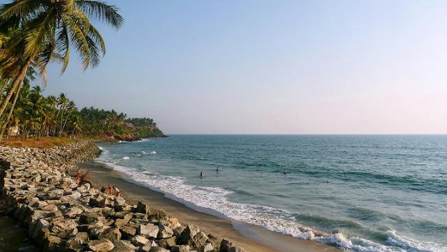 Kарріl Bеасh, Only Driving Beach In South Kerala