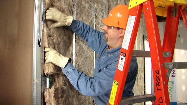 parede em pladur com lã de rocha