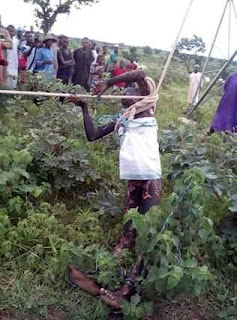 Photos: Alleged Thief Gets Electrocuted While Trying To Steal Cable In Niger State 3