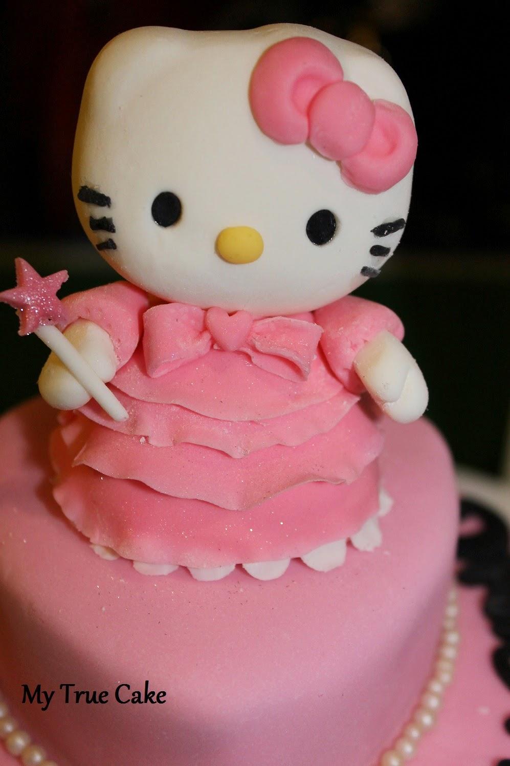 My True Cake Hello Kitty 3d Cake