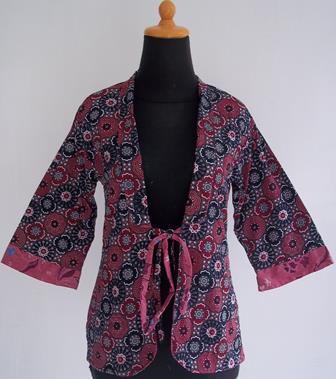 Model Batik Bolero Yang Terbaru