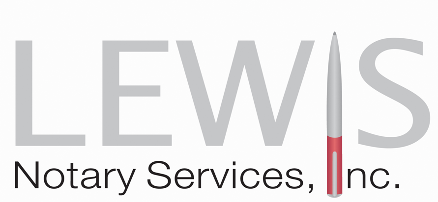 Lewis Notary Services
