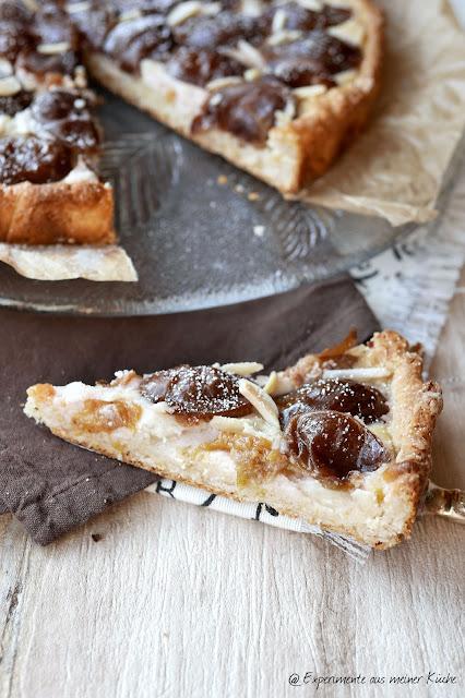 Pflaumen-Marzipan-Tarte | Kuchen | Backen