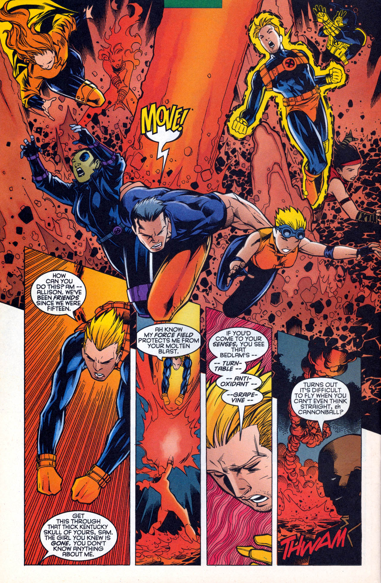 Read online X-Force (1991) comic -  Issue #88 - 26