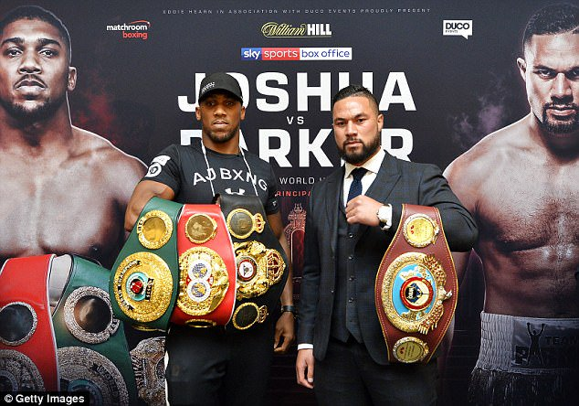 joshua parker fight date
