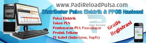 PadiReloadPulsa.Com Distributor Resmi Pulsa Semua Operator Termurah Saat Ini
