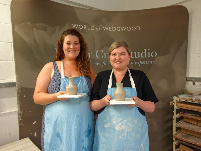Wedgwood Pottery Making Sally O'Shea