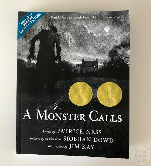 A Monster Calls by Patrick Ness cover image