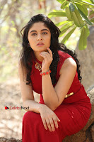 Telugu Actress Zahida Sam Latest Pos in Red Gown at RF Films New Movie Opening  0293.JPG