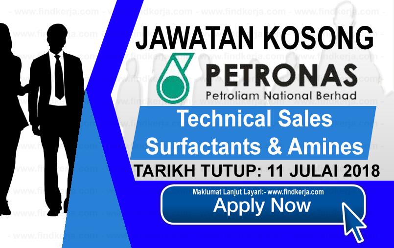 Jawatan Kerja Kosong PETRONAS - Petroliam Nasional Berhad logo www.findkerja.com www.ohjob.info julai 2018