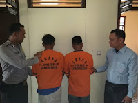 Polisi Tangkap Dua Tersangka Pencabulan Anak Dibawah Umur di Banyumas