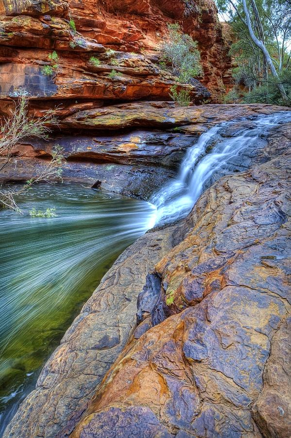 Waterfall at Kings Canyon, Northern Territory, Australia | Australia the perfect land photography lovers