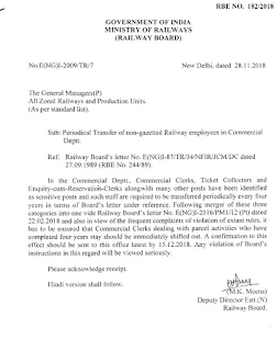 railway-periodical-transfer-on-non-gazetted-railway-employees