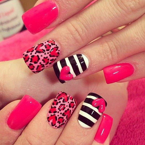 Los 8 diseños de uñas más lindos para este san valentín ...