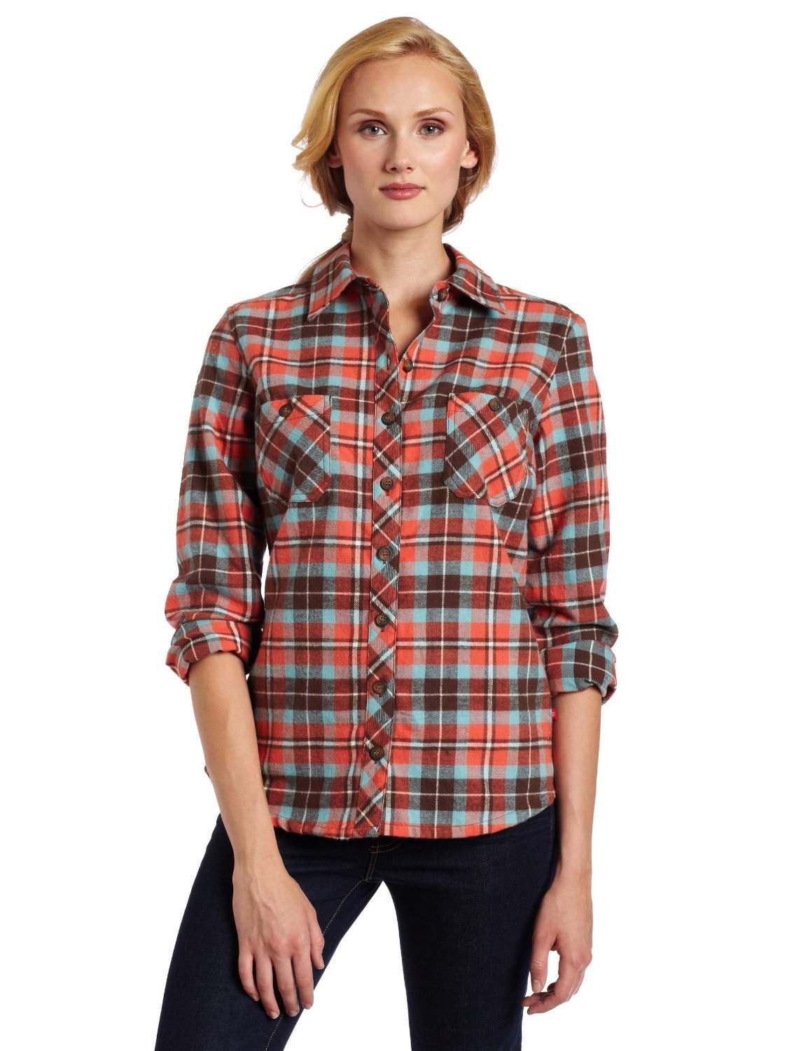 Womens flannel shirts cheap flannel shirts for women for Womens plaid flannel shirts