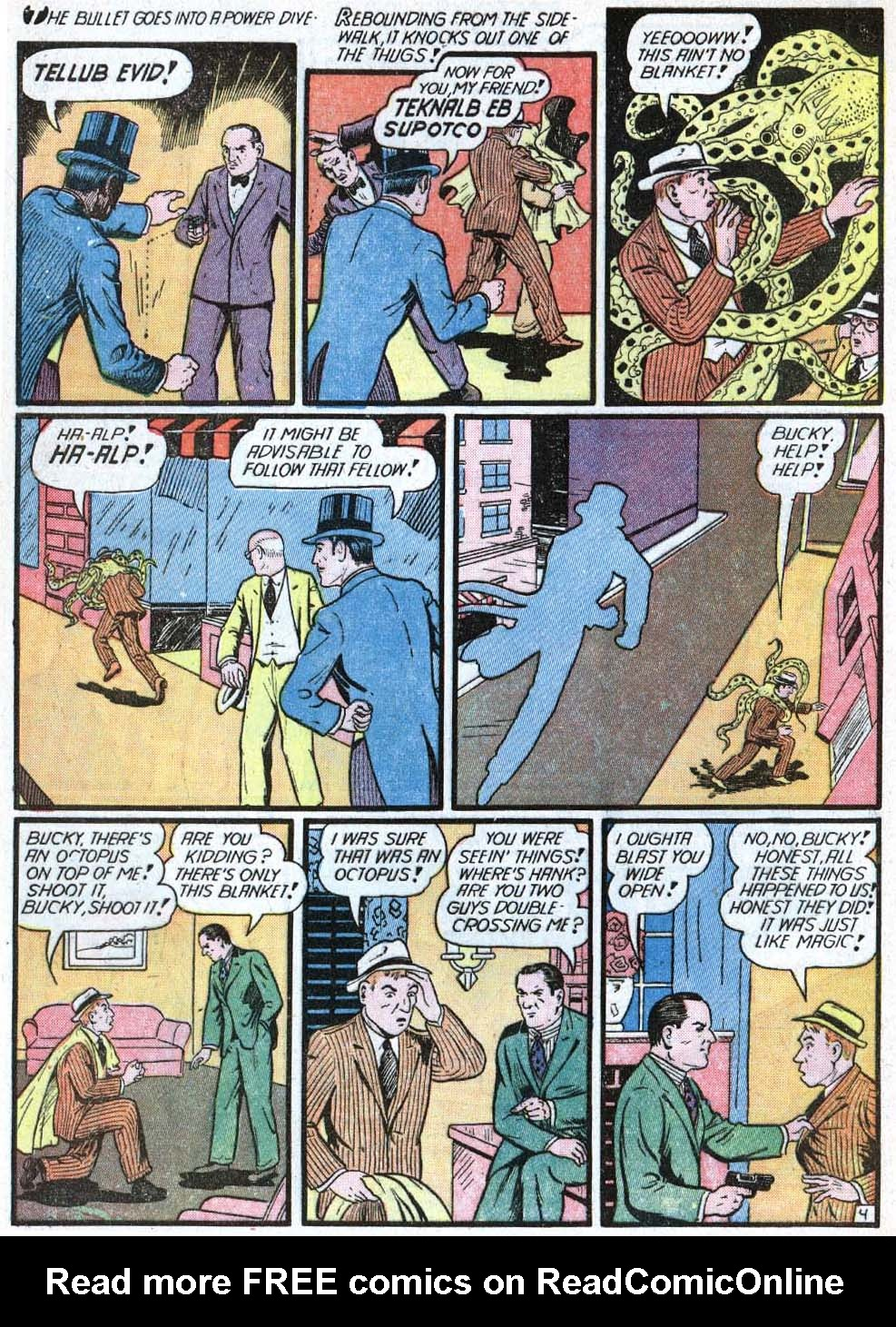 Read online Action Comics (1938) comic -  Issue #40 - 60
