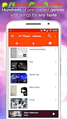 Free Music Player: Endless Free Songs Download Now Premium Apk MafiaPaidApps