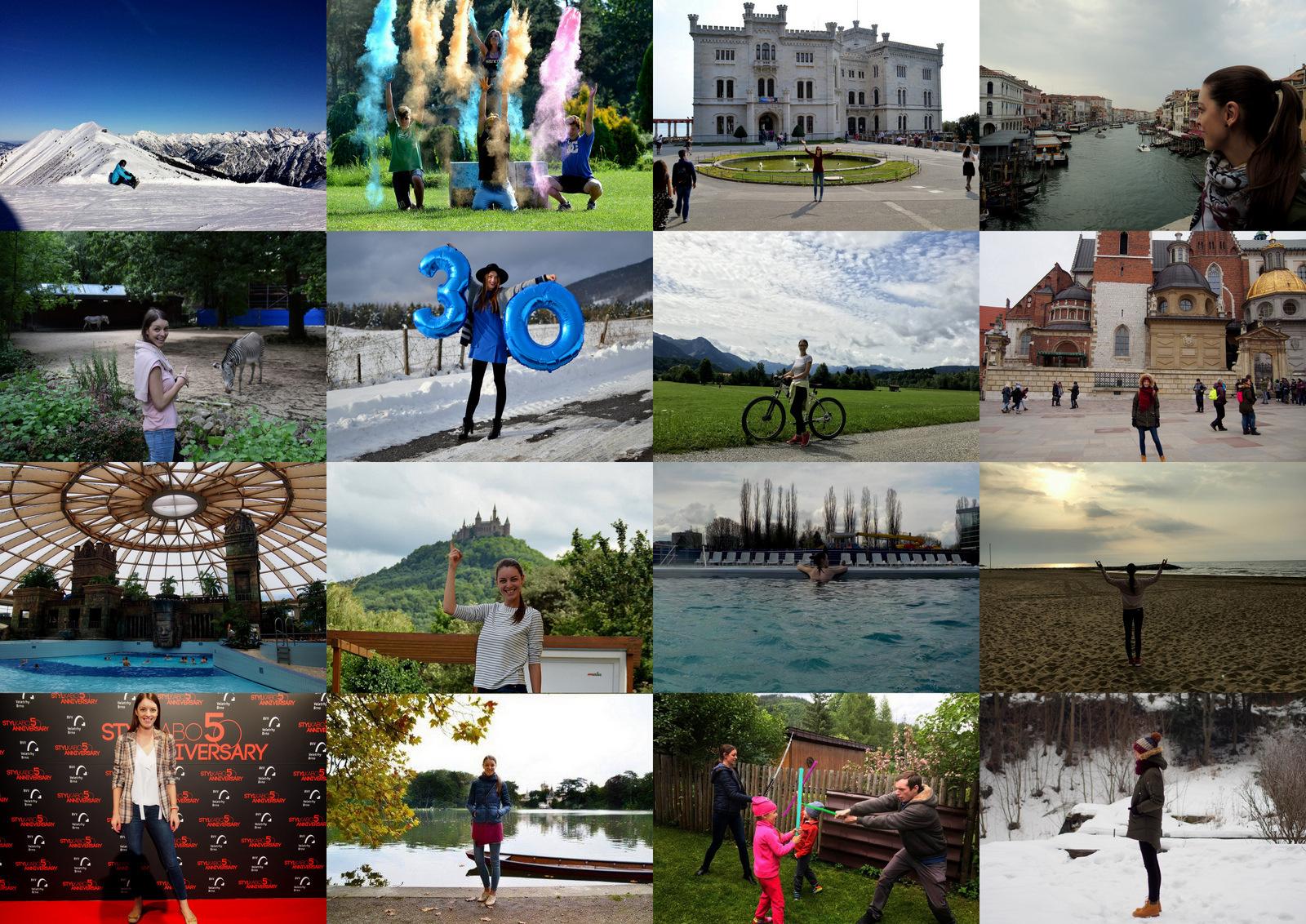 rok 2017 // zážitky a zaujímavé miesta, ktoré som navštívila