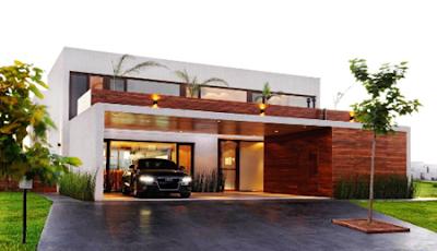 rumah minimalis berbahan kaca