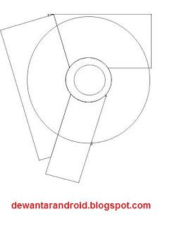 tutorial cara membuat logo google chrome dengan corel draw